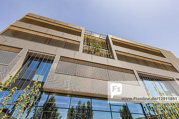 Germany  Karlsruhe  Office building with passive house standard at Kreativpark