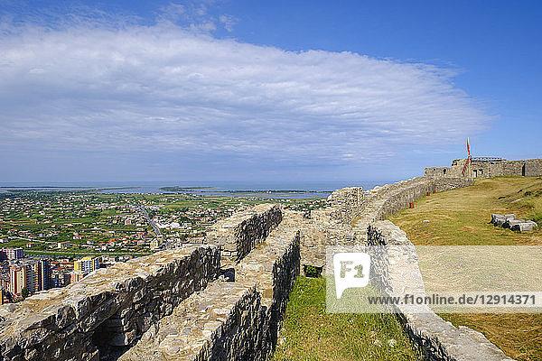 Albania  Lezhe  View from Lezhe Castle