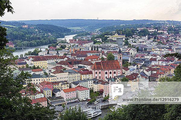 Germany  Bavaria  Passau  cityscape