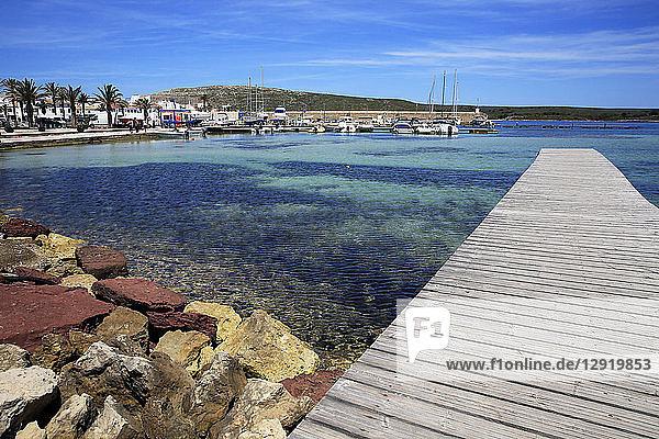 Fornells  Menorca  Balearic Islands  Spain  Mediterranean