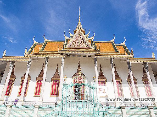 Silver Pagoda  Royal Palace  Phnom Penh  Cambodia  Indochina  Southeast Asia  Asia