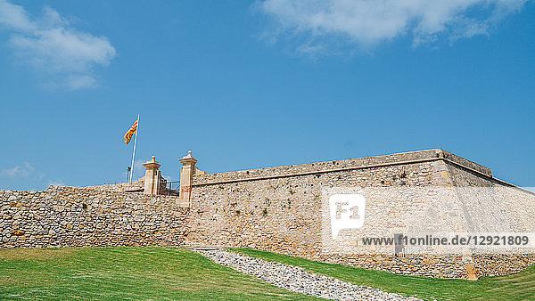 Forti de Sant Jordi built in 1709 by the English army under War of Succession  Tarragona  Catalonia  Spain  Europe