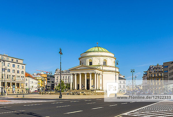 St. Alexander's Church  Warsaw  Poland