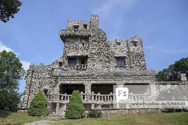 Gillette Castle  Gillette Castle State Park  East Haddam  Connecticut  United States.