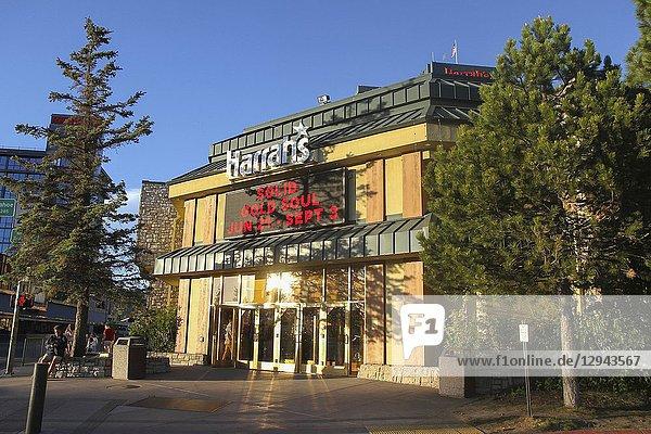 Harrah's Lake Tahoe Hotel and Casino  Stateline  Nevada  United States.