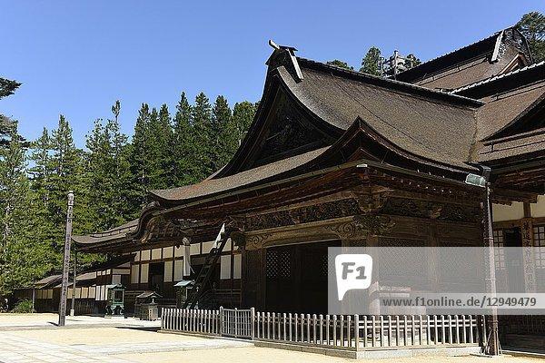 Kongobuji temple in Koyasan  Japan  Asia.