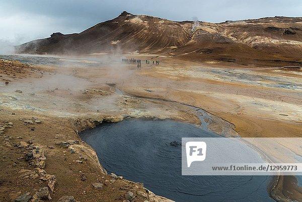 Hverir. Devil's Kitchen. Northeastern Region. Iceland.