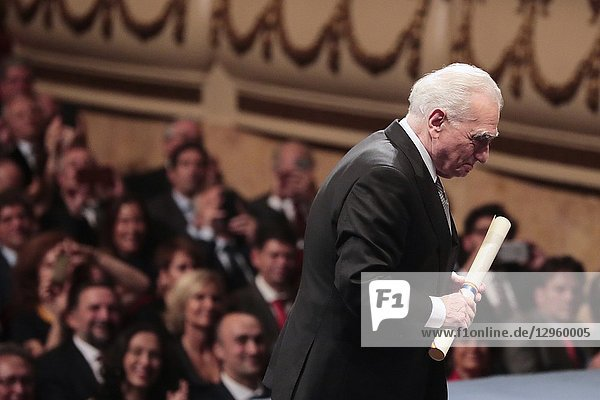 King Felipe VI of Spain  Queen Letizia of Spain  Martin Scorsese Princess of Asturias Award for the Arts 2018 attended the 'Princesa de Asturias Awards 2018 (Princess of Asturias awards)' ceremony on October 19  2018 in Oviedo  Spain