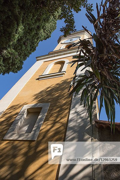 A clock tower in the French village of Eze is hundreds of years old and is one of the charming historical sites that attracts visitors from around the world.