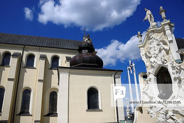 Jasna Gora - most famous Polish pilgrimage site  sanctuary of Our Lady of Czestochowa - Queen of Poland and the Pauline Fathers order monastery  National Shrine  the spiritual capital of Poland  Czestochowa  Silesian Voivodeship  southern Poland  Poland  Europe