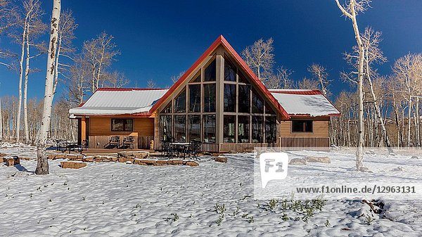 Eco Home A-Frame,  Hastings Mesa,  across from Last Dollar Ranch,  Ridgway Colorado