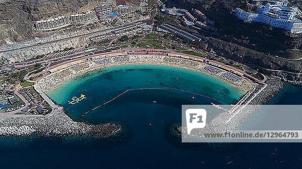 Spain  Canary Islands Gran Canaria. Playa Amadores