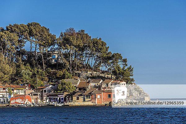 France  Provence-Alpes-Cote-d'Azur  Var  Toulon  Magaud bay and cape Sainte-Marguerite