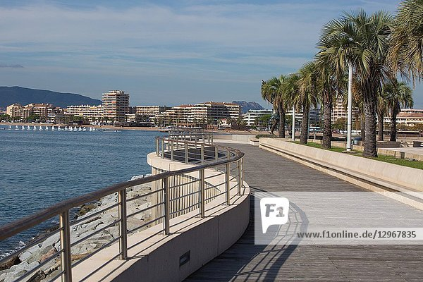 Saint Raphael is the start of the French Riviera in the South of France  famed for its beaches and sunshine.