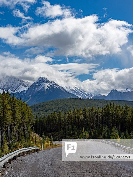 Canadian Rockies. Banff National Park View.