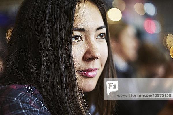 Portrait of mid adult woman in Copenhagen