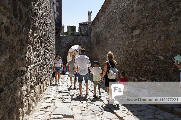 Hisar Kapia is a medieval gate. Plovdiv  Bulgaria.