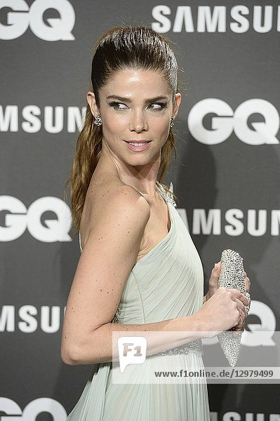 Juana Acosta attends GQ Men of the Year Awards 2018 at Palace Hotel on November 22  2018 in Madrid  Spain