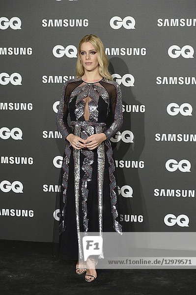 Alejandra Onieva attends GQ Men of the Year Awards 2018 at Palace Hotel on November 22  2018 in Madrid  Spain