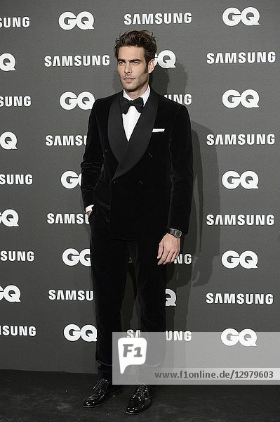 Jon Kortajarena attends GQ Men of the Year Awards 2018 at Palace Hotel on November 22  2018 in Madrid  Spain