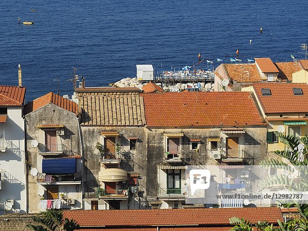 Marina Grande Neighbourhood  Sorrento  Naples Province  Italy.