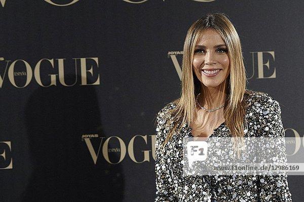 Rosanna Zanetti attends Vogue joyas awards photocall at Madrid at Palacio de Santoña on November 29  2018 in Madrid  Spain