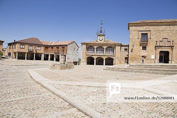 Village of Moron de Almazan  Soria provincia Castilla y Leon  Spain.