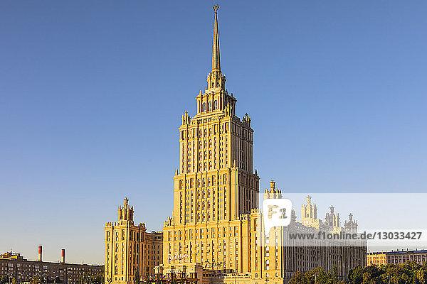 Radisson Royal Hotel  Moscow  Russia