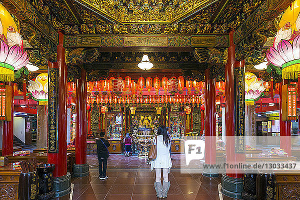 Ciyou Temple  Songshan District  Taipei  Taiwan
