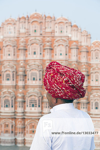 Hawa Mahal (Palace of the Winds)  built in 1799  Jaipur  Rajasthan  India
