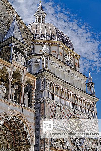 Capella Colleoni  Chapel of Basilica di Santa Maria Maggiore in Piazza Duomo at Citta Alta (Old Town)  Bergamo  Lombardy  Italy
