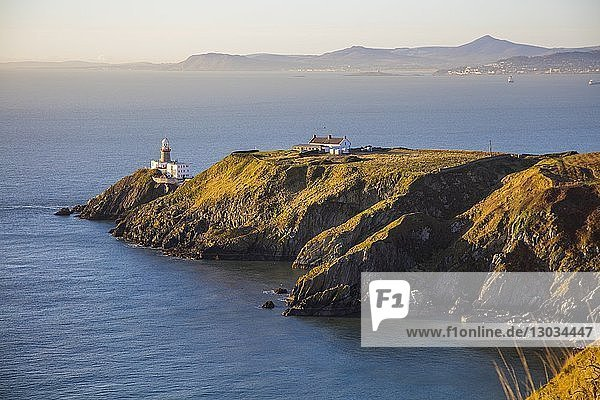 The Baily Lighthouse  Howth  County Dublin  Leinster  Republic of Ireland