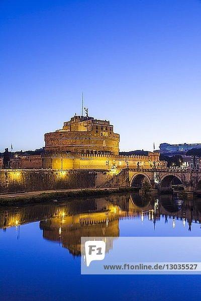 Castel Sant'Angelo  UNESCO World Heritage Site  Rome  Lazio  Italy