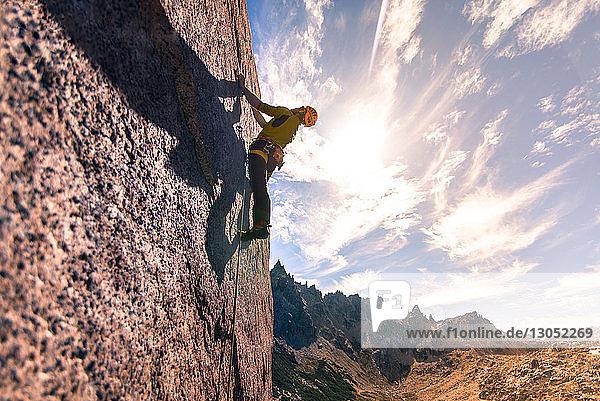 Felsklettern in Frey  San Carlos de Bariloche  Rio Negro  Argentinien