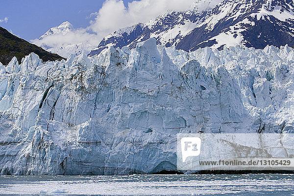 Terminus Of Margerie Glacier In Glacier Bay National Park Southeast Alaska Fairweather Range