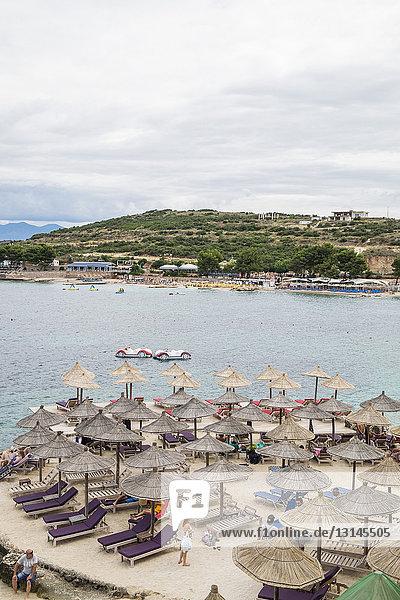 Albania  Ksamil  the beach
