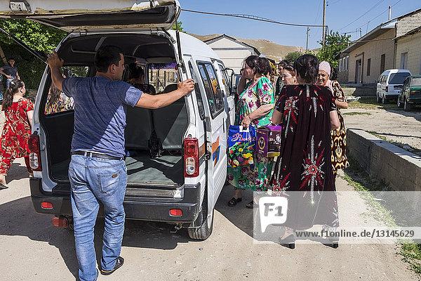 Uzbekistan  Samarkand  daily life