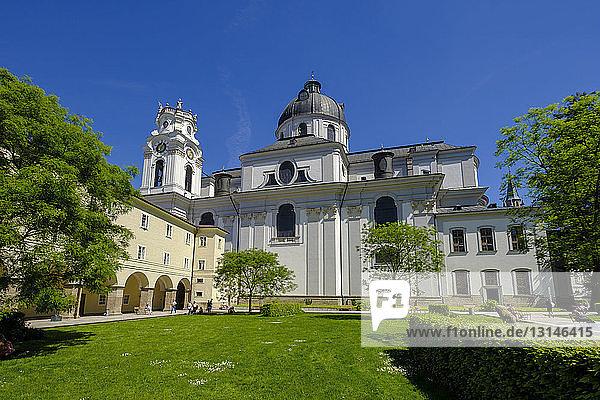 Austria  Salzburg State  Salzburg  College Church  Furtwanglerpark