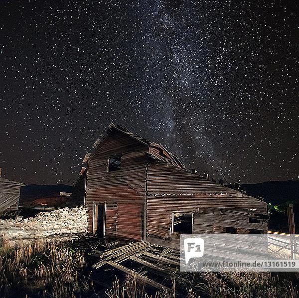 Projekt zur Erhaltung der Milchstraße und der Gebäude der Haynes-Ranch  Oliver  Britisch-Kolumbien  Kanada