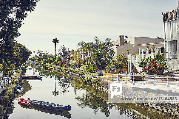 Historischer Bezirk Venedig-Kanal  Los Angeles  Kalifornien