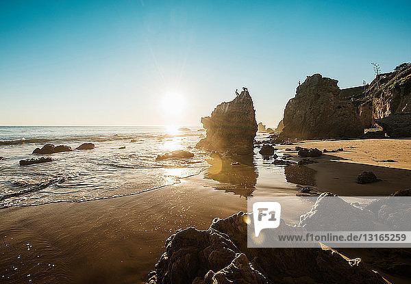 Strand von El Matador  Malibu  Kalifornien  USA