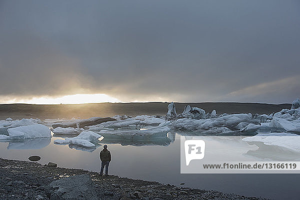 Gletscherlagune Jokulsarlon  Skaftafell-Nationalpark  Island