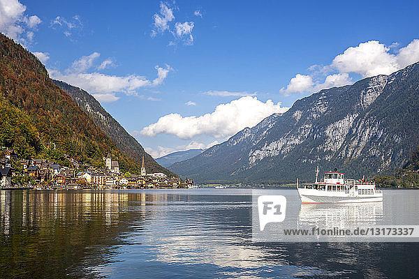 Österreich  Salzkammergut  Hallstätter See  Hallstadt