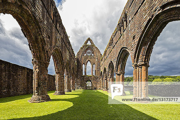 Vereinigtes Königreich  Schottland  Dumfries and Galloway  Sweetheart Abbey