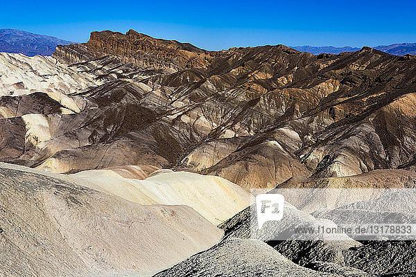 USA  Kalifornien  Death Valley  Death Valley National Park  Zabriskie Point