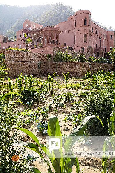 Indien  Rajasthan  Alwar  Heritage Hotel Ram Bihari Palace