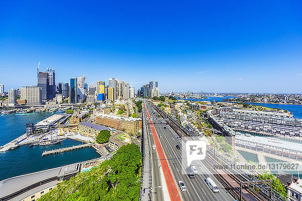 Australien  New South Wales  Sydney  Stadtansicht