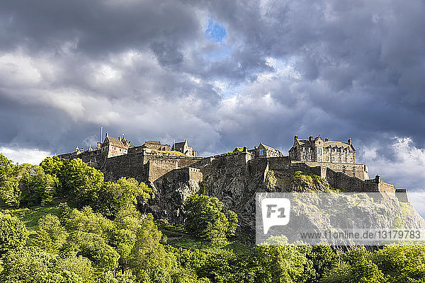 Großbritannien  Schottland  Edinburgh  Castle Rock  Edinburgh Castle