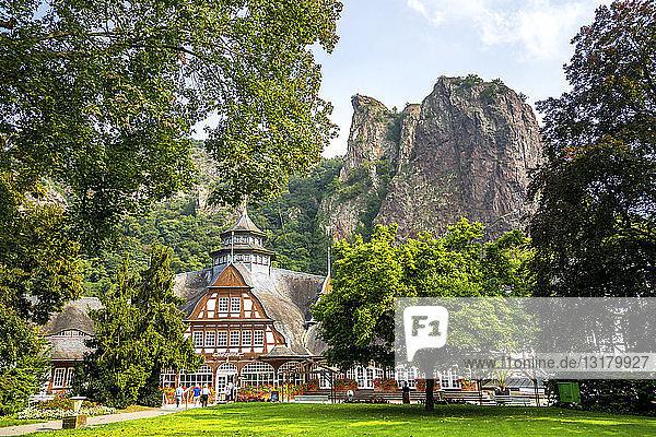 Deutschland  Rheinland-Pfalz  Bad Kreuznach  Bad Münster am Stein-Ebernburg