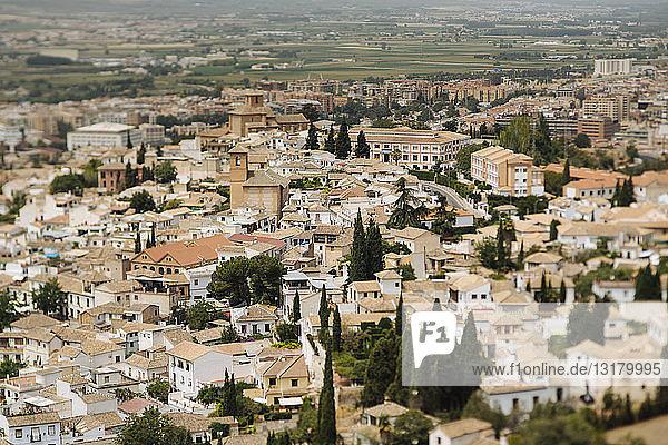 Spain  Granada  cityscape